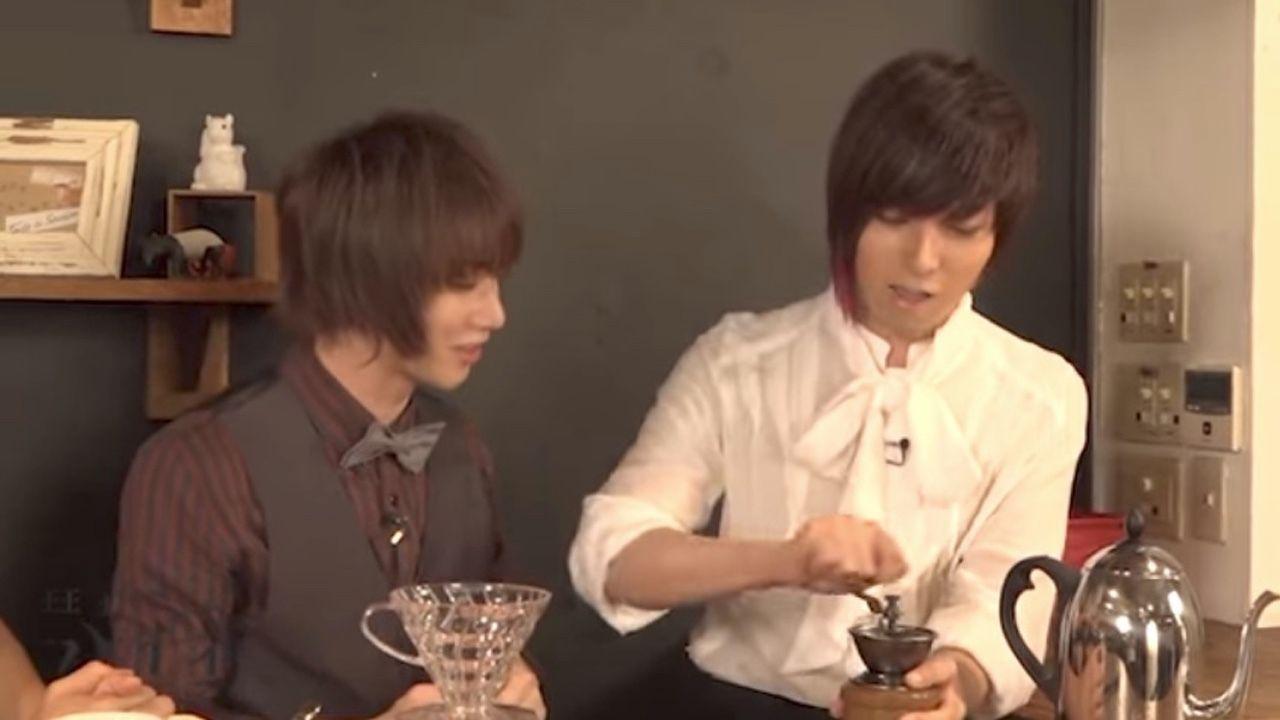 楽しそうにコーヒーを淹れる蒼井翔太さんと植田圭輔さんが可愛い!『王室教師ハイネ』BD&DVD特典映像に癒される!