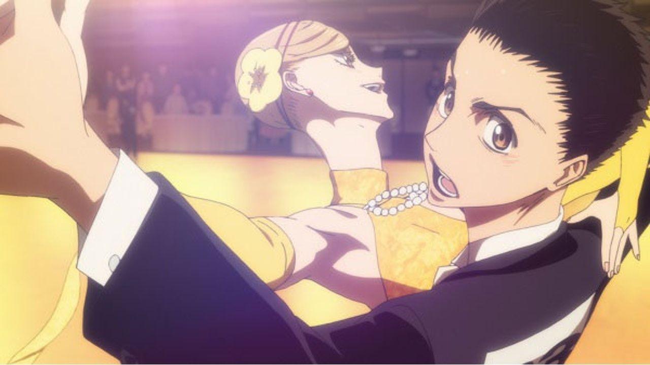 アニメ『ボールルームへようこそ』第9話の先行カット到着!ついに決勝戦!多々良の出した花と額縁の答えとは?