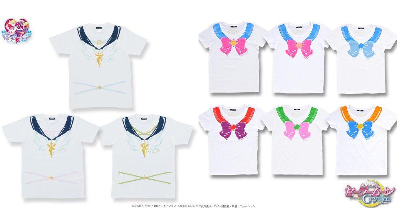 ワクワクが甦る!セーラー戦士になりきるTシャツ「なりきりセーラーTシャツ」の再販と新商品予約開始!