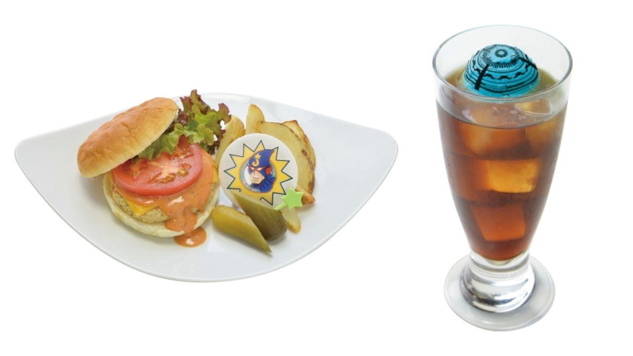 レオとネジが食べていたあのハンバーガーも登場!『血界戦線 & BEYOND』×アニメイトカフェのメニュー公開!
