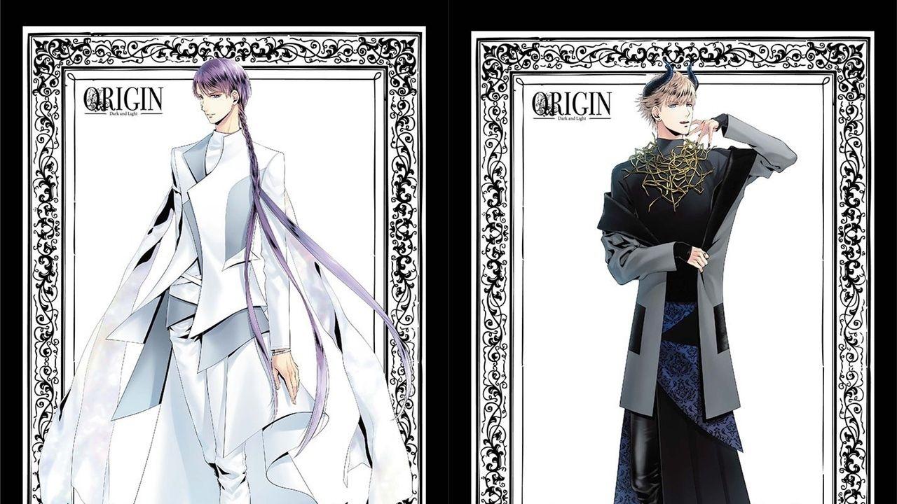 美しい天使&悪魔! 『ツキプロ』AGFに出展する合同エア舞台「ORIGIN」のイラストが公開!