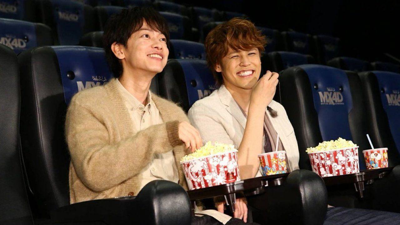 映画『亜人』のMX4D上映を佐藤健さんと宮野真守さんのW永井圭が一足先に鑑賞!笑顔が眩しいツーショットも公開!