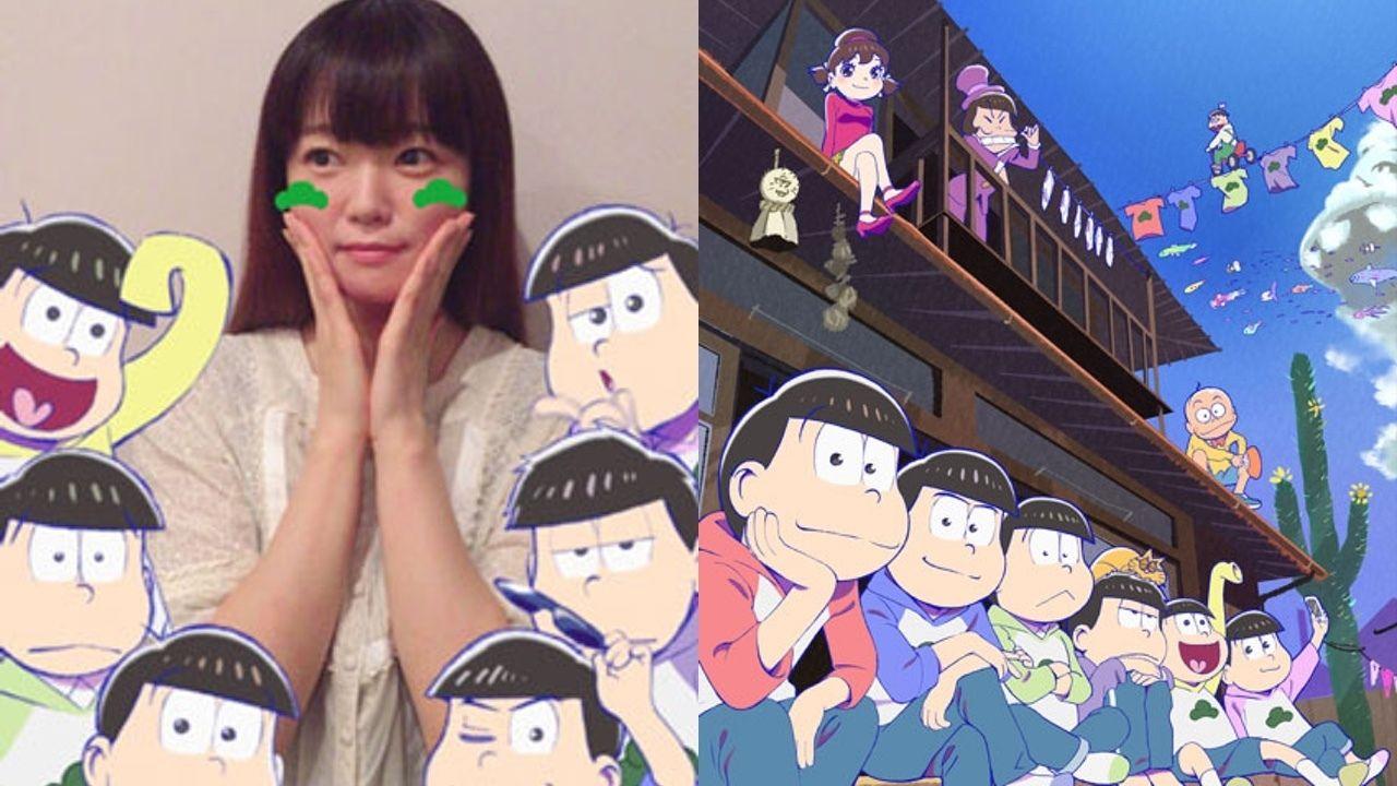 トト子役の遠藤綾さんも使用!『おそ松さん』×「SNOW」6つ子と一緒に撮影できるコラボスタンプが本日より配信開始!