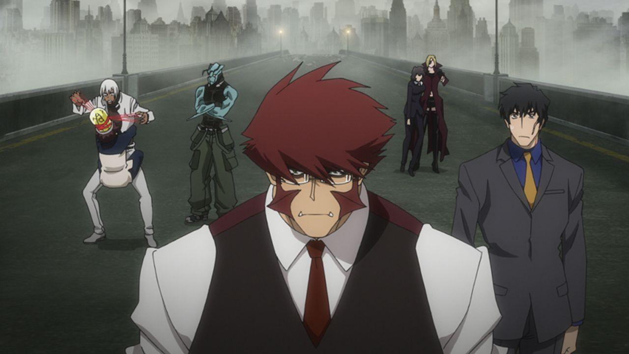 『血界戦線 & BEYOND』第1話あらすじ&先行場面カットが到着!レオの元に転がってきたのは生首!?