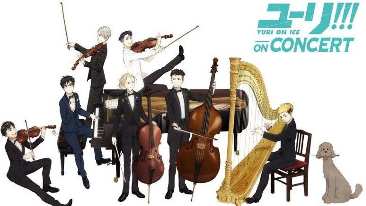 勇利達が楽器を持って演奏!11月19日開催の「ユーリ!!! on CONCERT」のキービジュアルが公開!