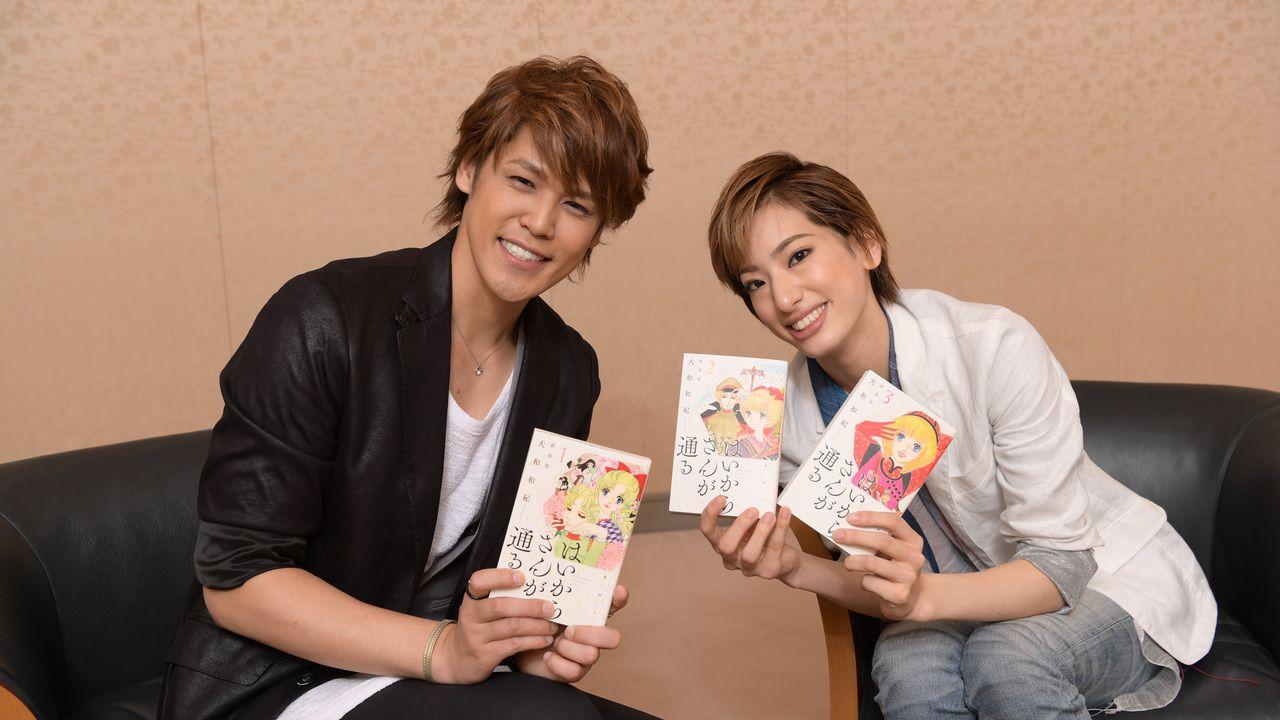 声優・宮野真守さんと宝塚花組・柚香光さんが対談!『はいからさんが通る』少尉役を演じる2人の共通点とは?