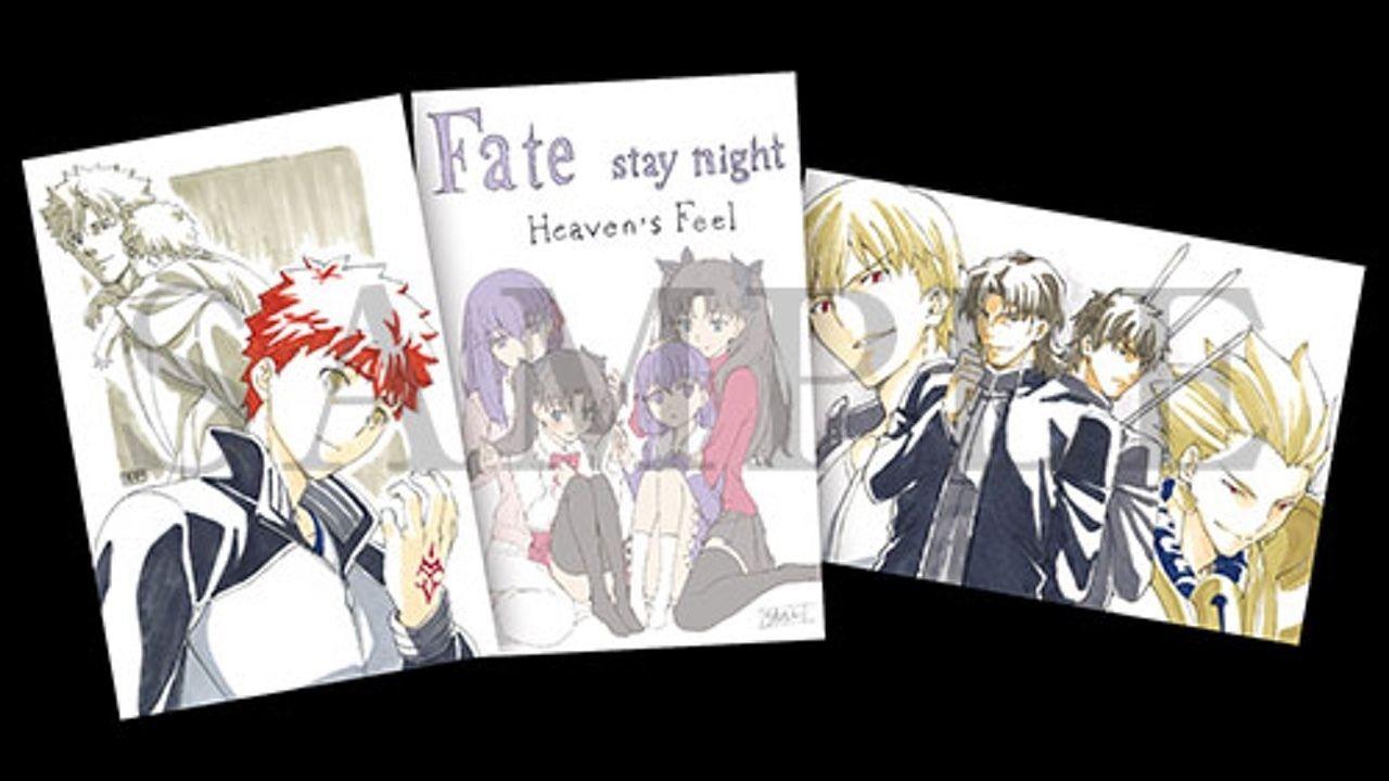 大ヒット上映中『Fate/stay night[HF]』2週目の来場者特典は『Zero』とコラボしたポストカードが登場!