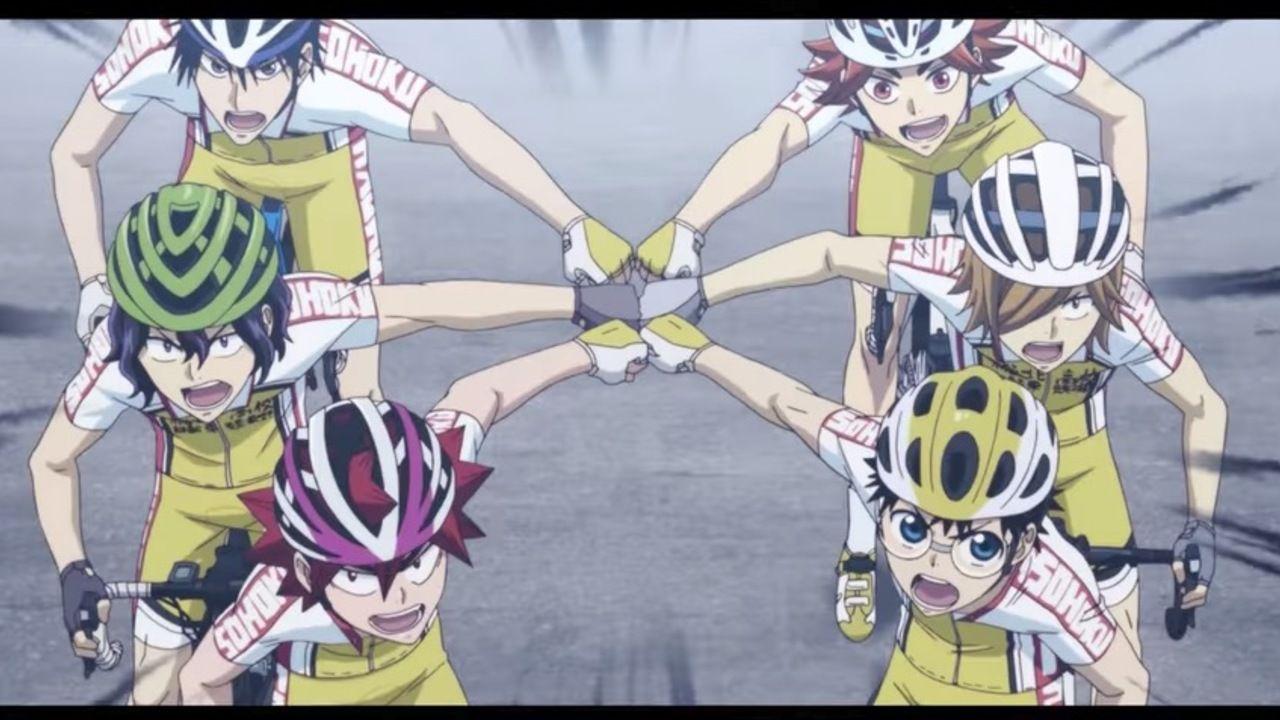 アニメ『弱虫ペダル』4期それぞれのキャッチコピーとイメージカラーに大注目のティザーPV公開!