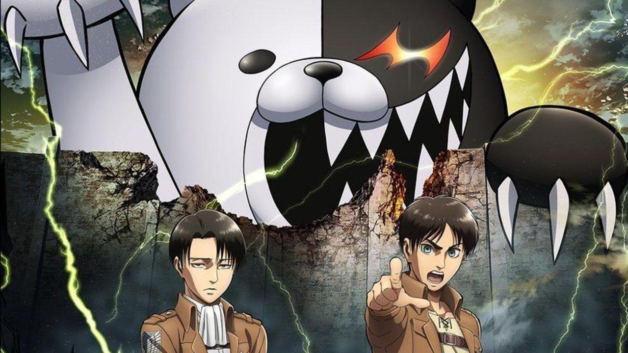 このコラボ…絶望しかない!3DS『進撃の巨人』と『ダンガンロンパ』のコラボが決定!巨大モノクマを駆逐せよ!