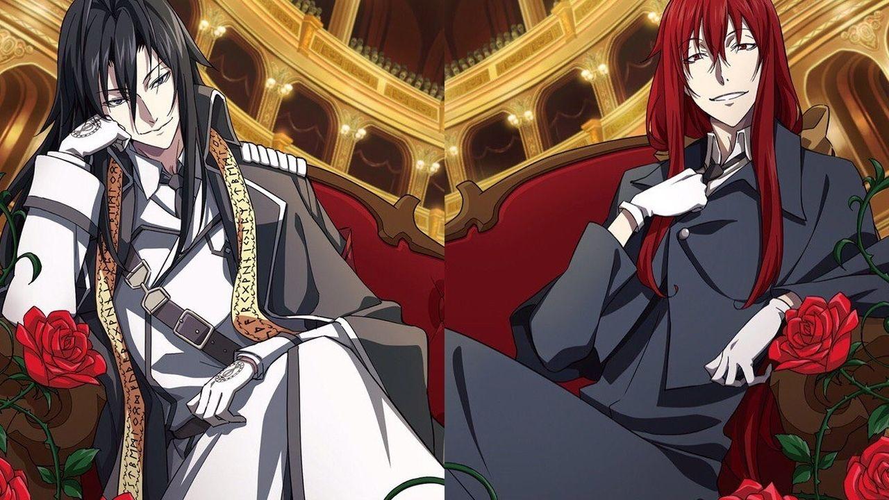 『Dies irae』のラインハルトとメルクリウスが黒と赤の貴族に!?「フェロ☆メン」6thシングルのジャケット公開!