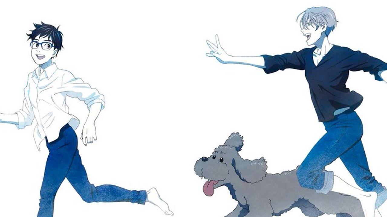 2人の笑い声が聞こえてきそう!『ユーリ!!! on ICE』描き下ろしイラストを使用したスケールフィギュアが登場!