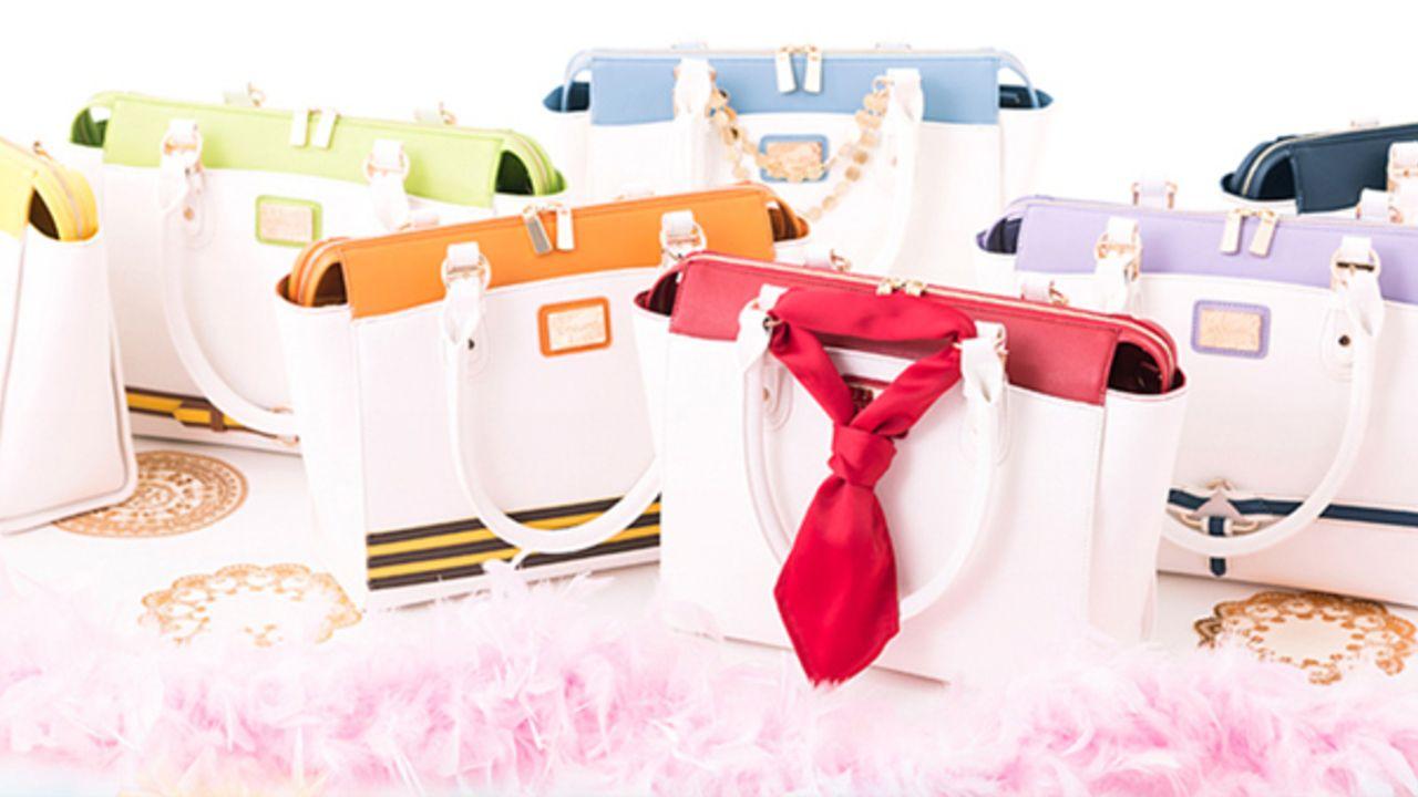 『アイドリッシュセブン』ステージ衣装をイメージした7種類のバッグ登場!