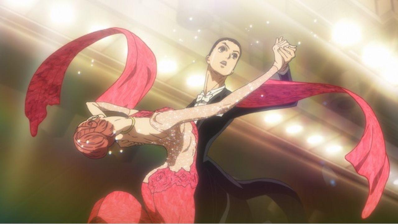 アニメ『ボールルームへようこそ』第24話の先行カット到着!決勝最終種目で多々良と千夏はどんな踊りを見せる?