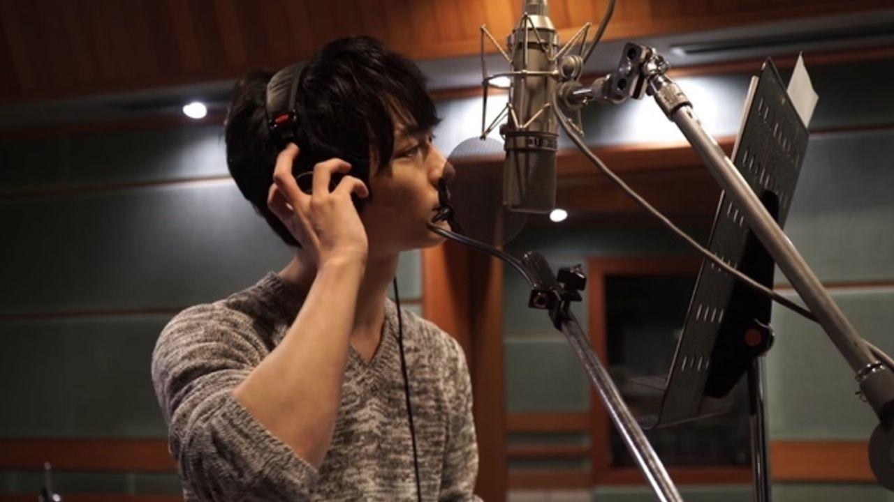 男性声優7名による工藤静香さんのカバーアルバムよりレコーディング&インタビュー映像が公開!