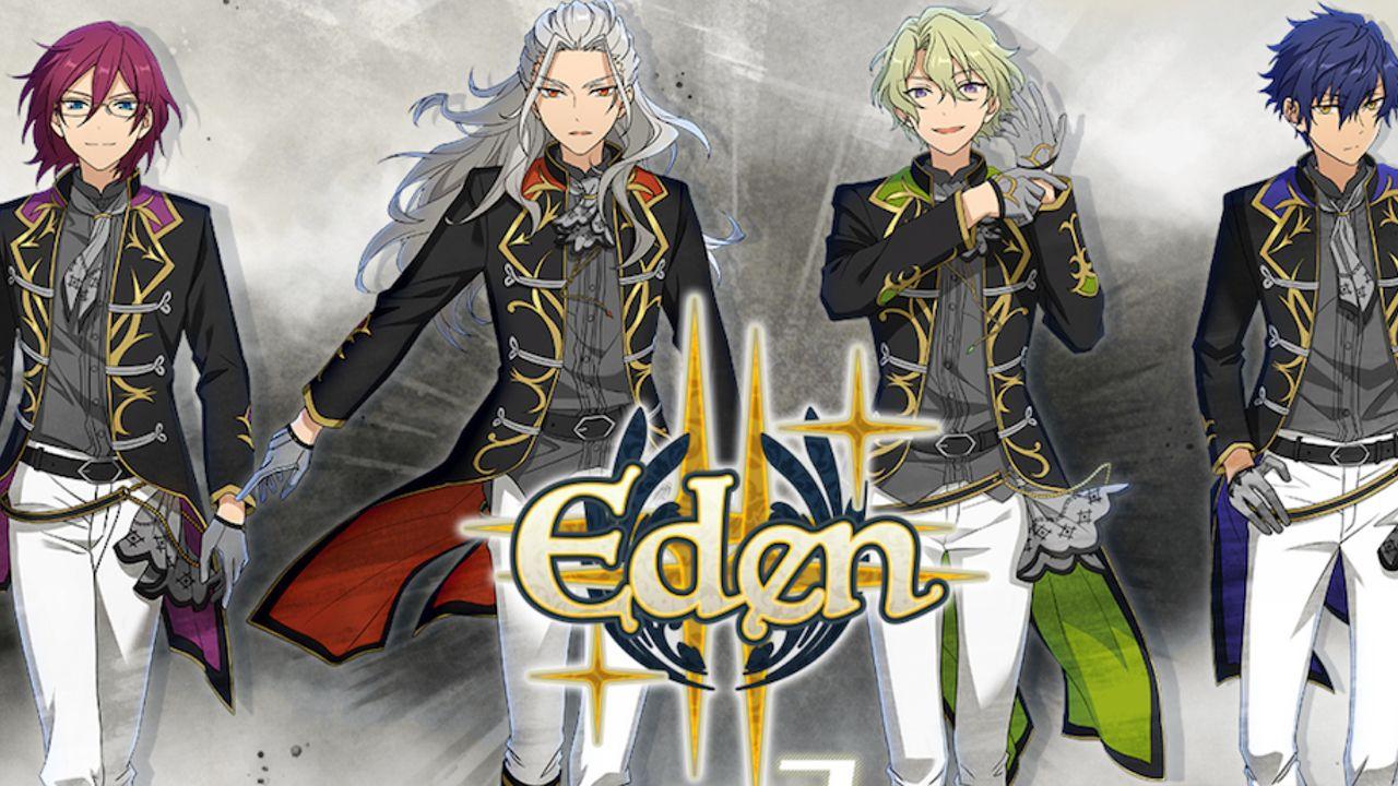 最強感が伝わってくる!『あんスタ』キセキシリーズ第3弾に登場する「Eden」のユニットイラスト公開!