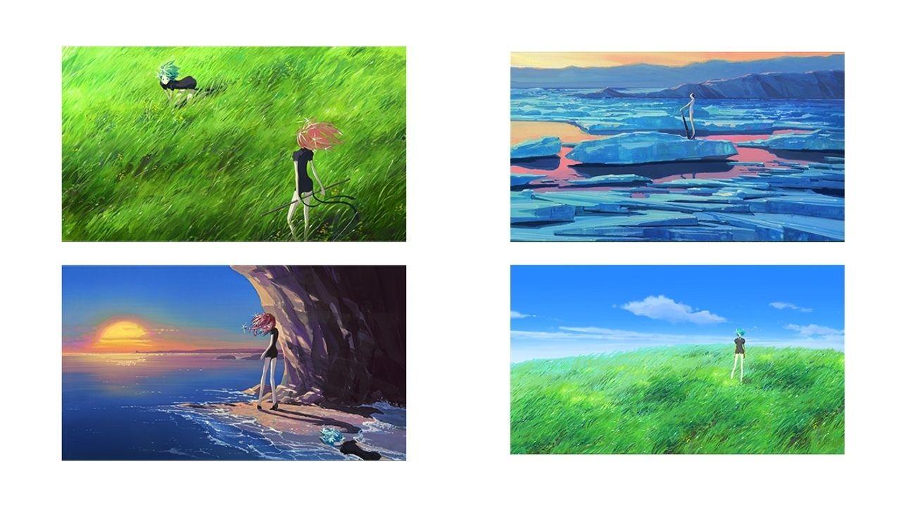 アニメ『宝石の国』のコンセプトアート集が来年2月に発売決定!約80点と西川洋一さん特別インタビューを収録