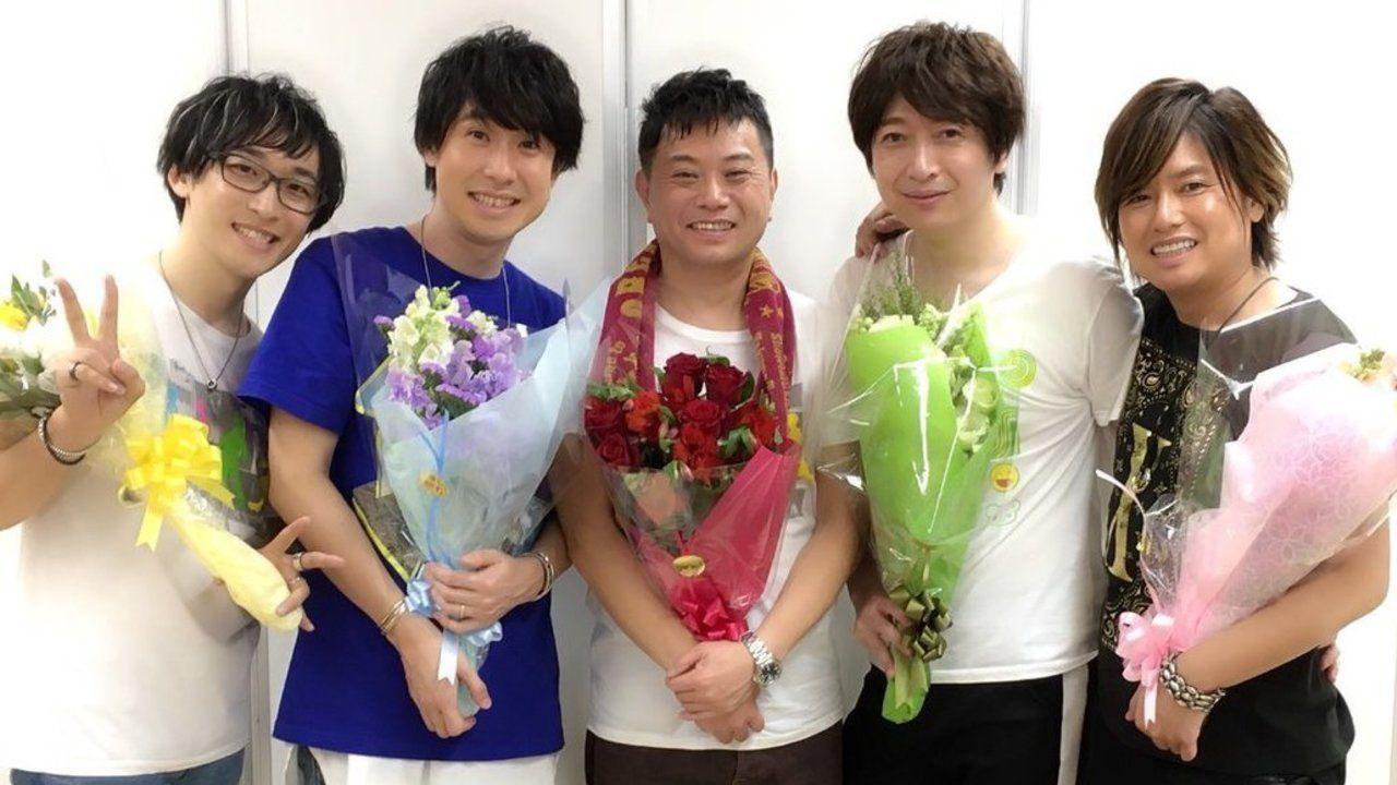 おれパラで発表!鈴村健一さん初のベストアルバム発売!さらにbuzz★Vibesミニアルバム発売も