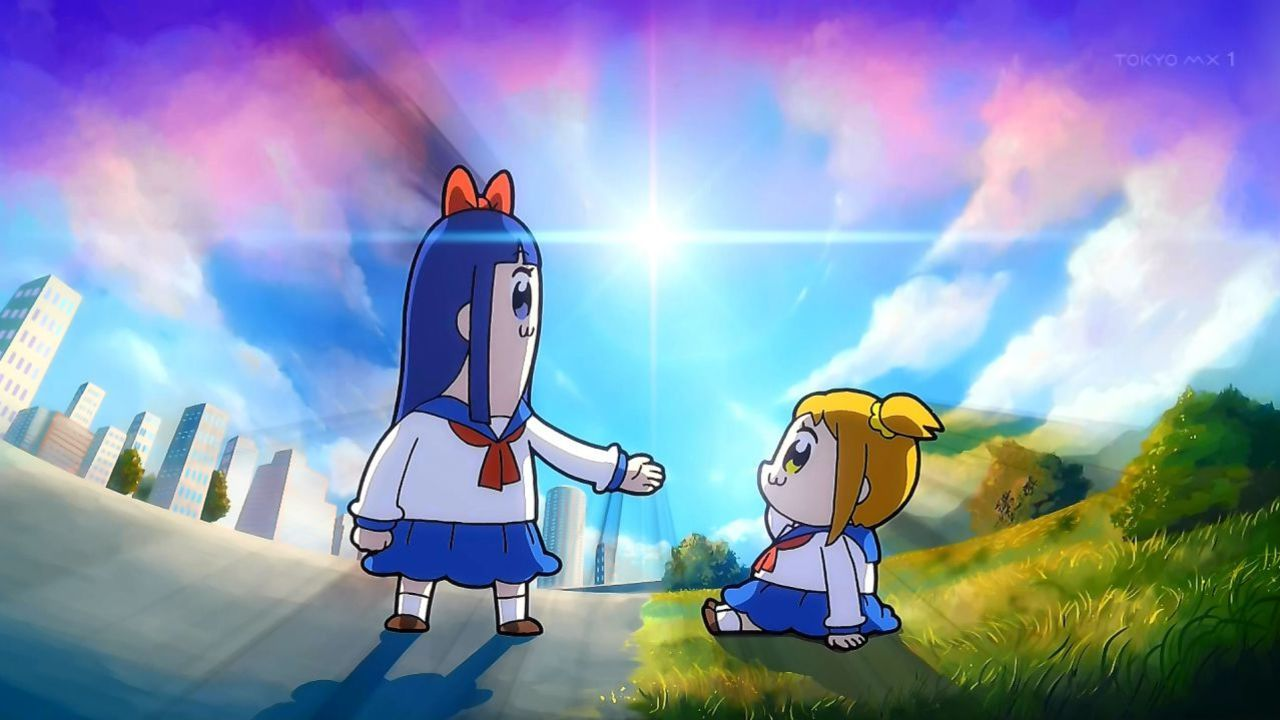 『ポプテピピック』第1話EDを赤羽根健治さんと武内駿輔さんが歌唱!さらに声優が違ったりと衝撃的すぎる内容に