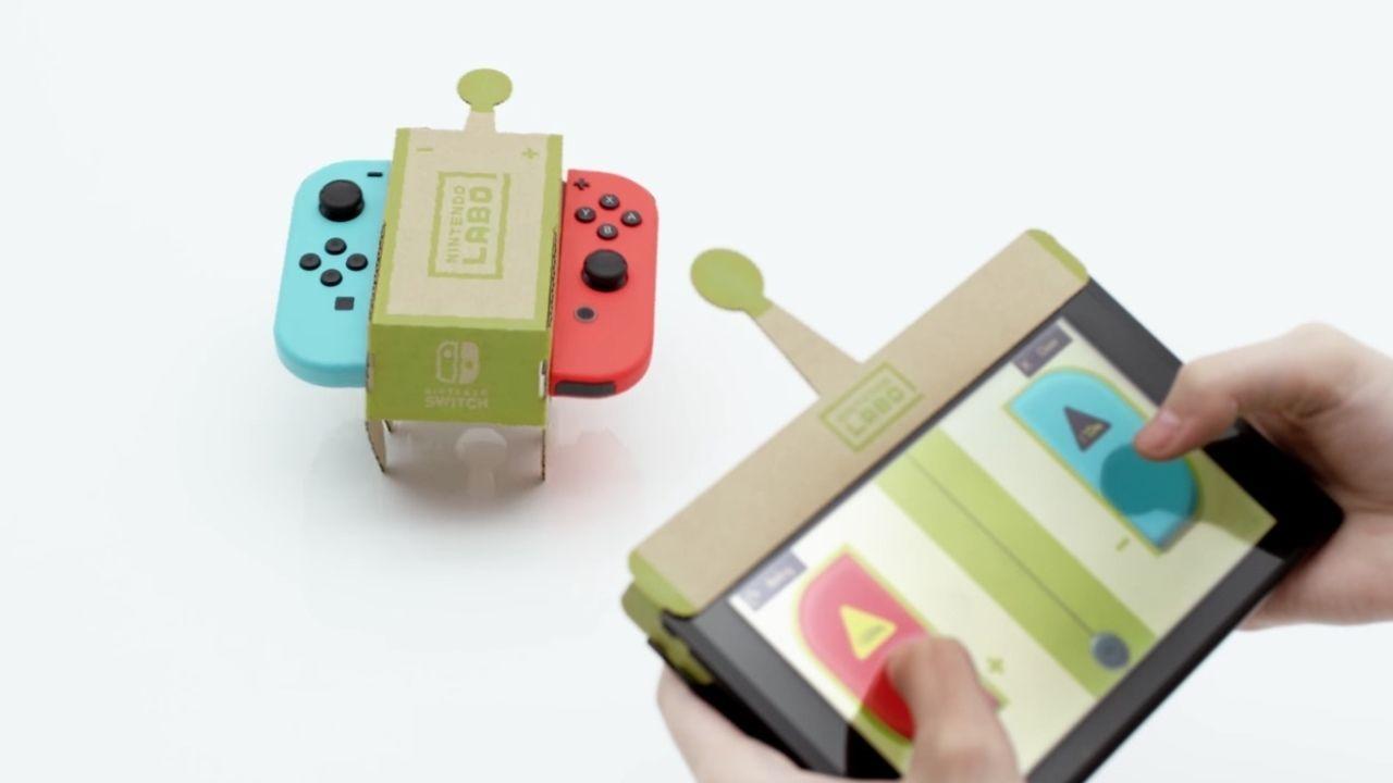 親子で楽しめちゃう!ダンボールを組み立てて遊ぶ工作キット「Nintendo Labo」が登場!