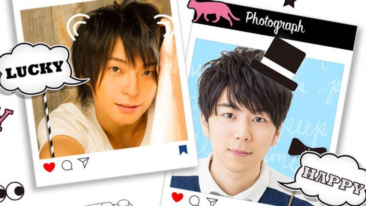 柿原徹也さん、西山宏太朗さんによるニコ生「ちょいもTV」がスタート!もっと楽しく、もっとオシャレにがテーマ!