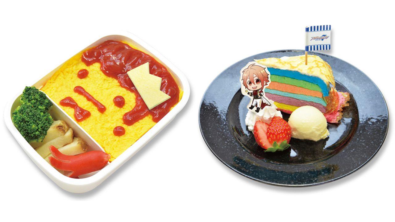 『アイナナ』xアニメイトカフェコラボ開催!ヤマさん手作り弁当に七色のケーキなどカラフルで楽しいメニュー!