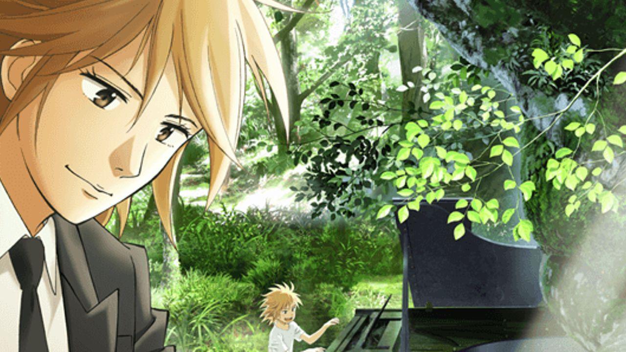 アニメ『ピアノの森』キャスト発表!主人公の海を斉藤壮馬さん、海の師匠・阿字野を諏訪部順一さんが演じる!