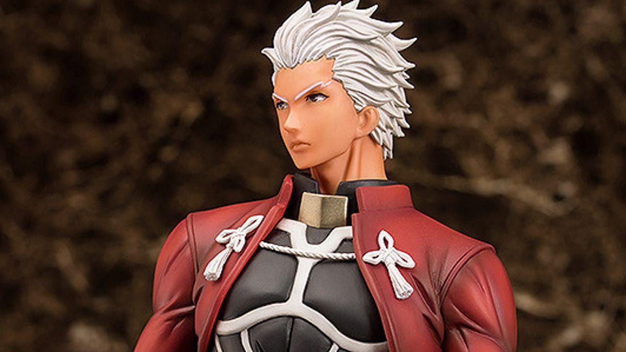 勇ましい表情と背中がかっこよすぎる!『Fate UBW』アーチャーのスケールフィギュアが登場!