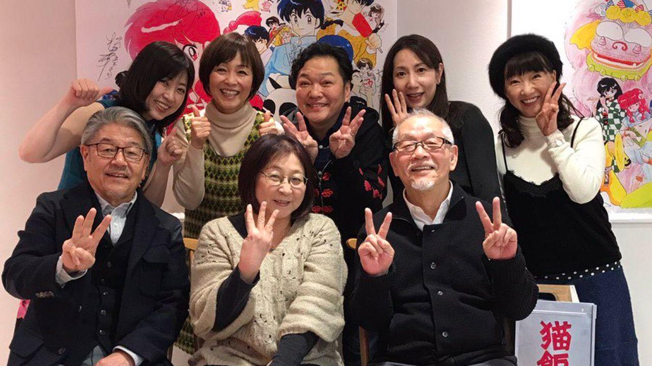すごいメンバーだ…!『らんま1/2』豪華キャスト陣と高橋留美子先生がらんまカフェを堪能!