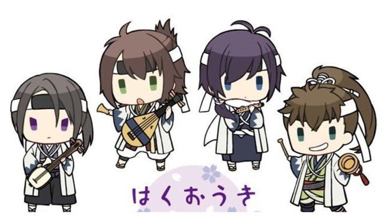 『薄桜鬼』と鏡音レン&KAITOがコラボ!新選組や千景が音楽をテーマにした愛らしい姿に!