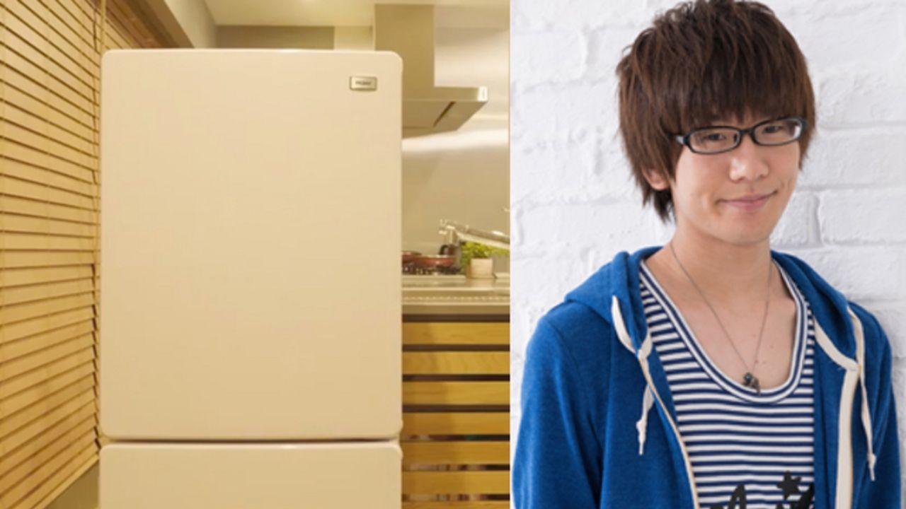 人気声優が家電に!?冷蔵庫(CV.花江夏樹さん)が女の子にキレのあるツッコミを入れていく動画が公開!