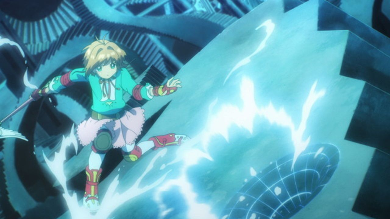 『CCさくら クリアカード編』10話感想 ローラースケートを履いての戦闘シーンが懐かしい
