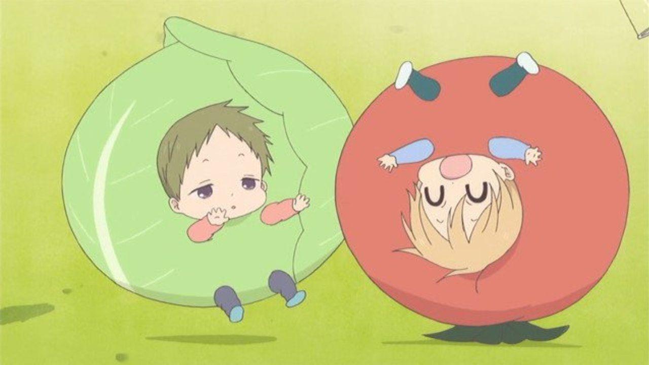 ゴロゴロピヨピヨ 『学園ベビーシッターズ』10話感想  お野菜コスもこた&ひよこも可愛すぎぃ!!