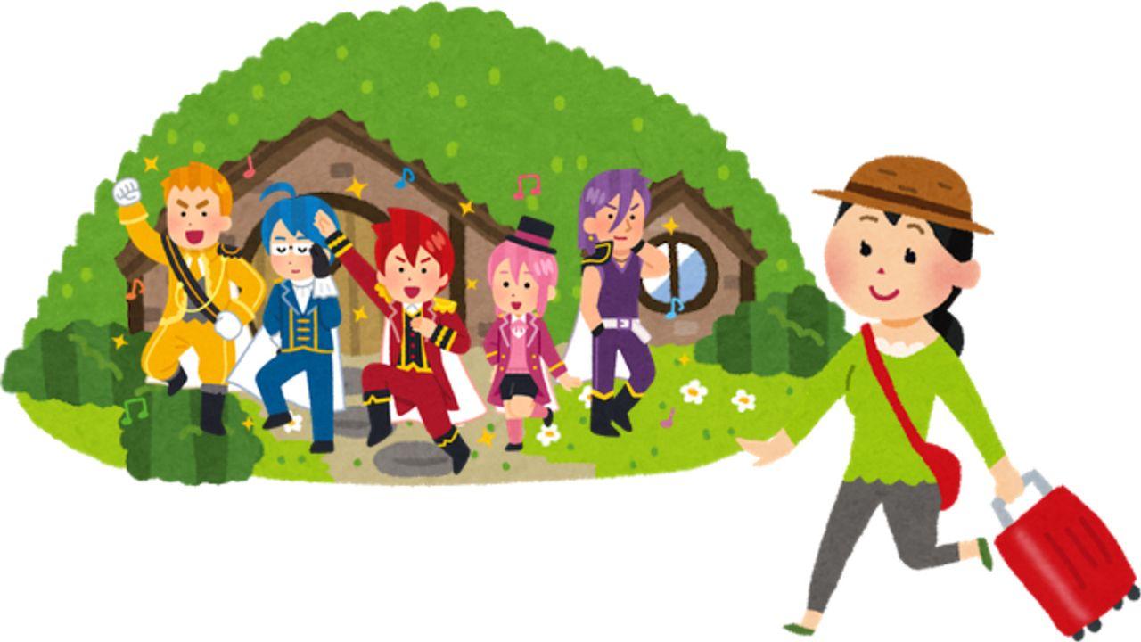 実際に行ってみたいアニメの世界はありますか?