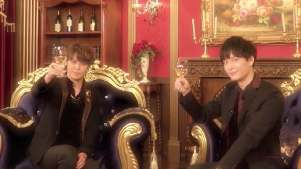 宮野真守さんと梅原裕一郎さんによる『銀英伝』ナビゲート番組が公開!爆笑必至のパネルトークは必見!