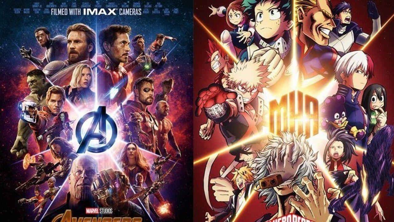 『ヒロアカ』と『アベンジャーズ』のヒーローが共演!デクと爆豪がアベンジャーズに憧れるコラボ映像など7本が公開