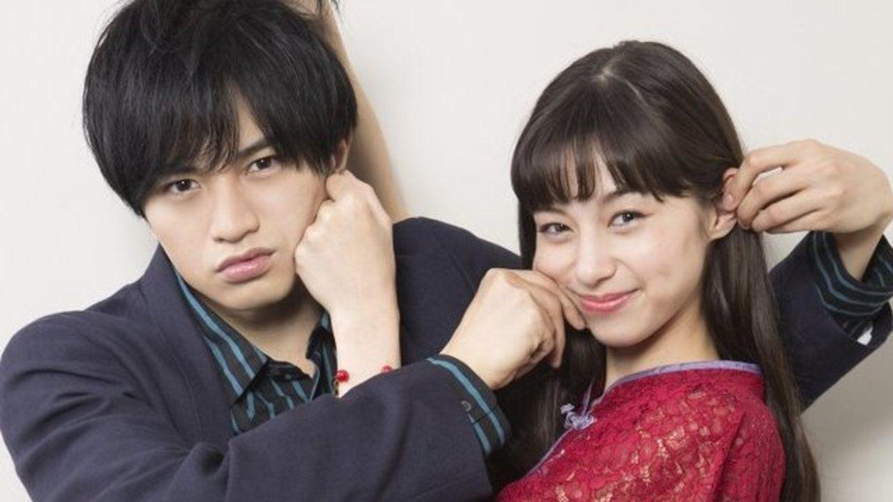 実写映画『ニセコイ』楽役を中島健人さん、千棘役を中条あやみさんが演じる!「偽物ではなく本物のラブストーリーを」