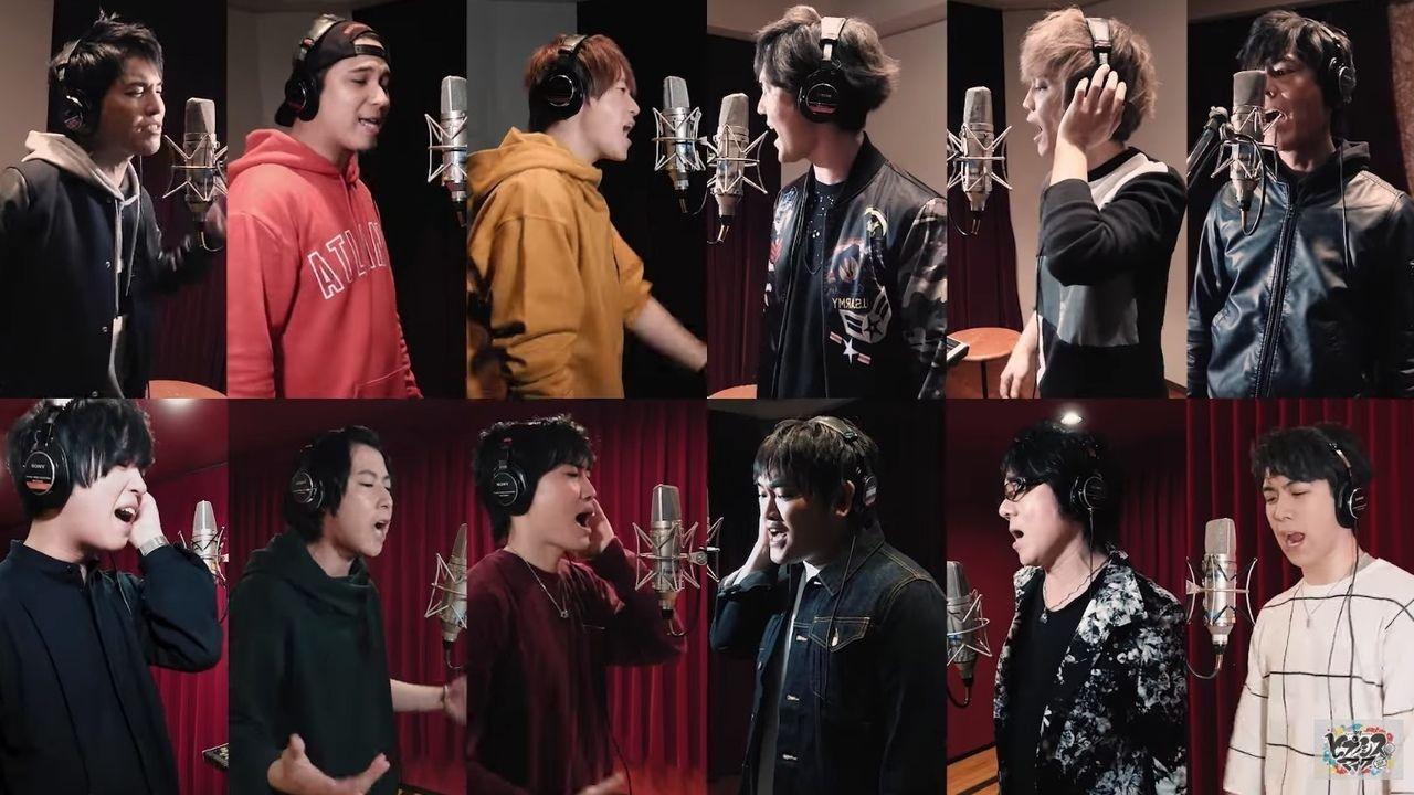 リピート確定『ヒプマイ』第2章のアンセムソングが公開!バンドサウンドに合わせて声優12名が圧巻のマイクリレー
