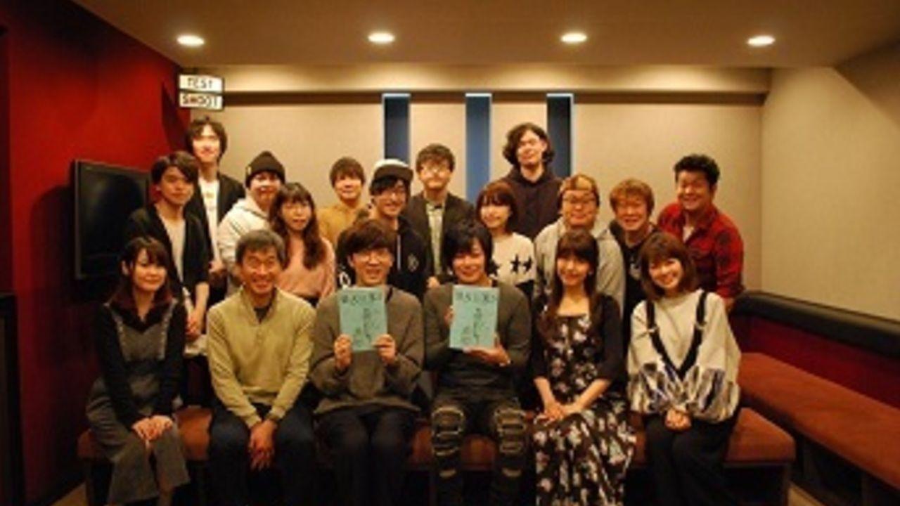 劇場版『曇天に笑う』中編のアフレコレポート&ロングPVが到着!櫻井孝宏さん「裏のある人物は難しいです」
