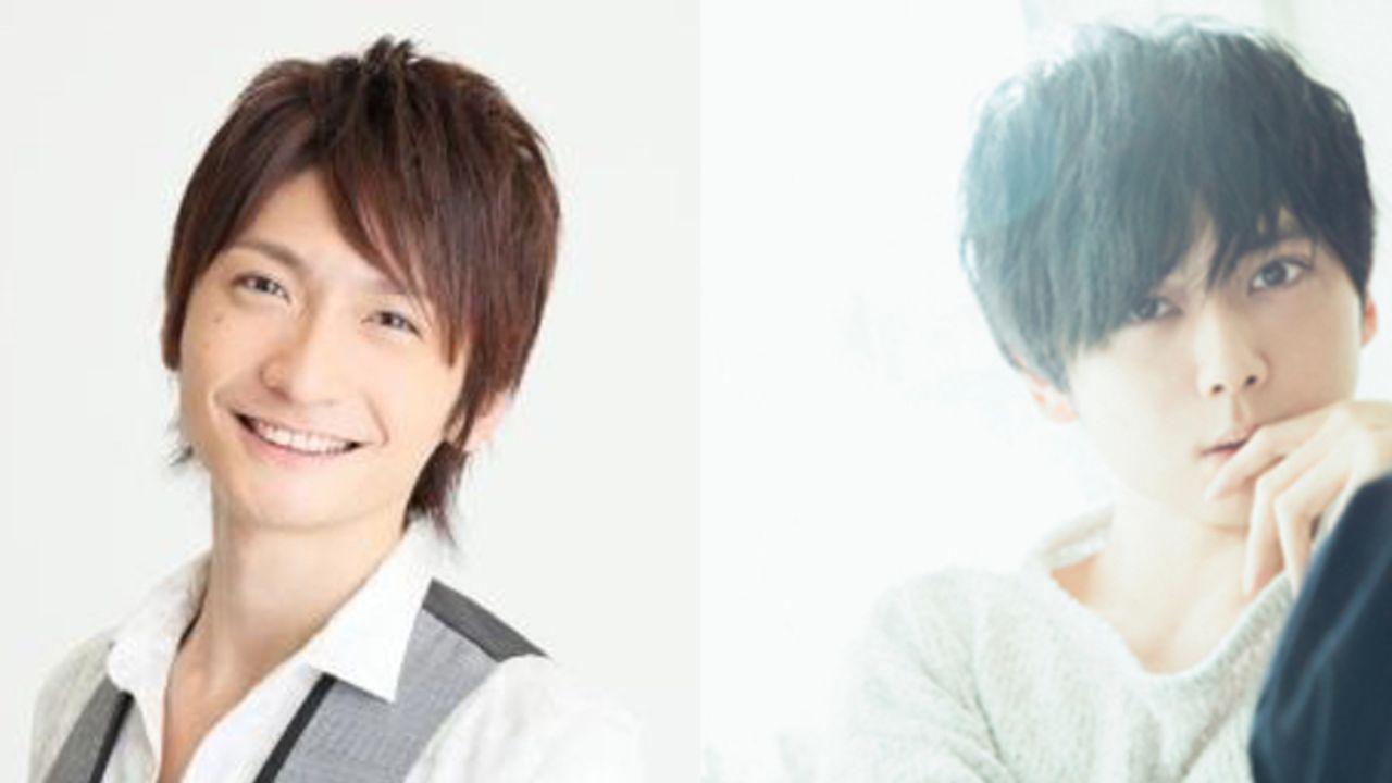 梶裕貴さんと島崎信長さんが地上波アニメの副音声に登場!2人の恋愛トークや幼少期のエピソードが聴ける