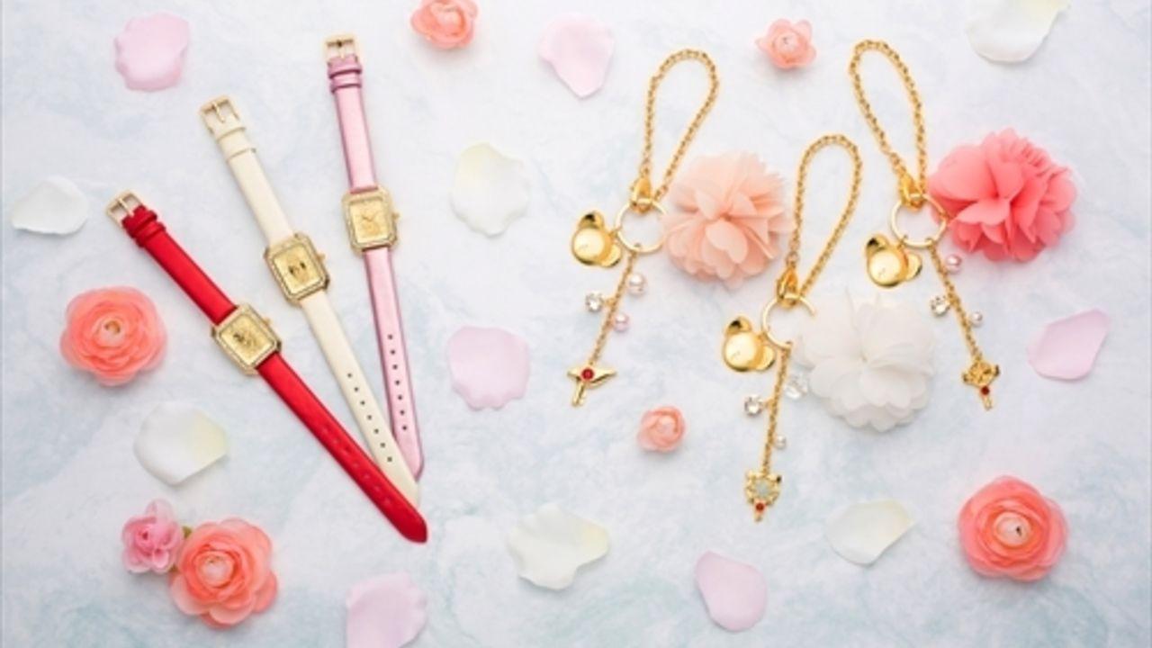 『CCさくら』カードモチーフのかわいい腕時計とフラワー&キーチャームが予約開始!