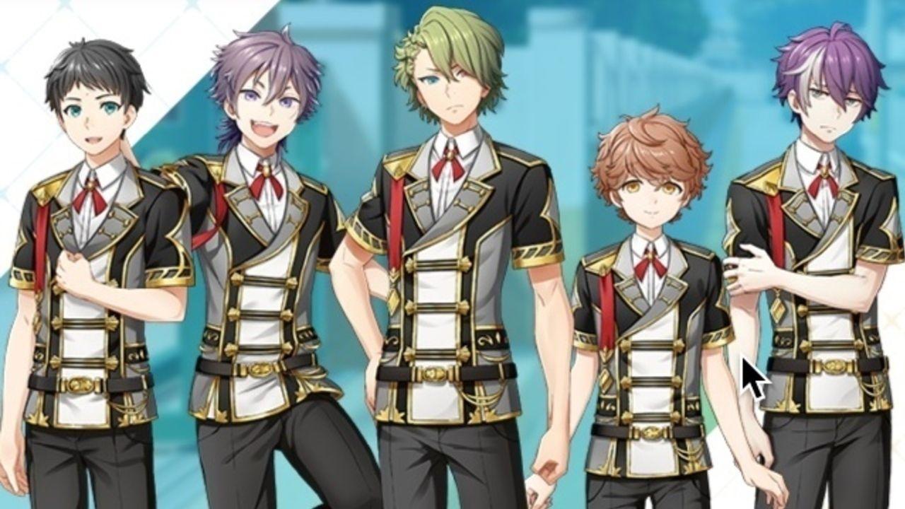 スクエニxアイドル育成アプリ『IDOL FANTASY』より畠中祐さん、榎木淳弥さんら5人が出演する新キャラが公開!