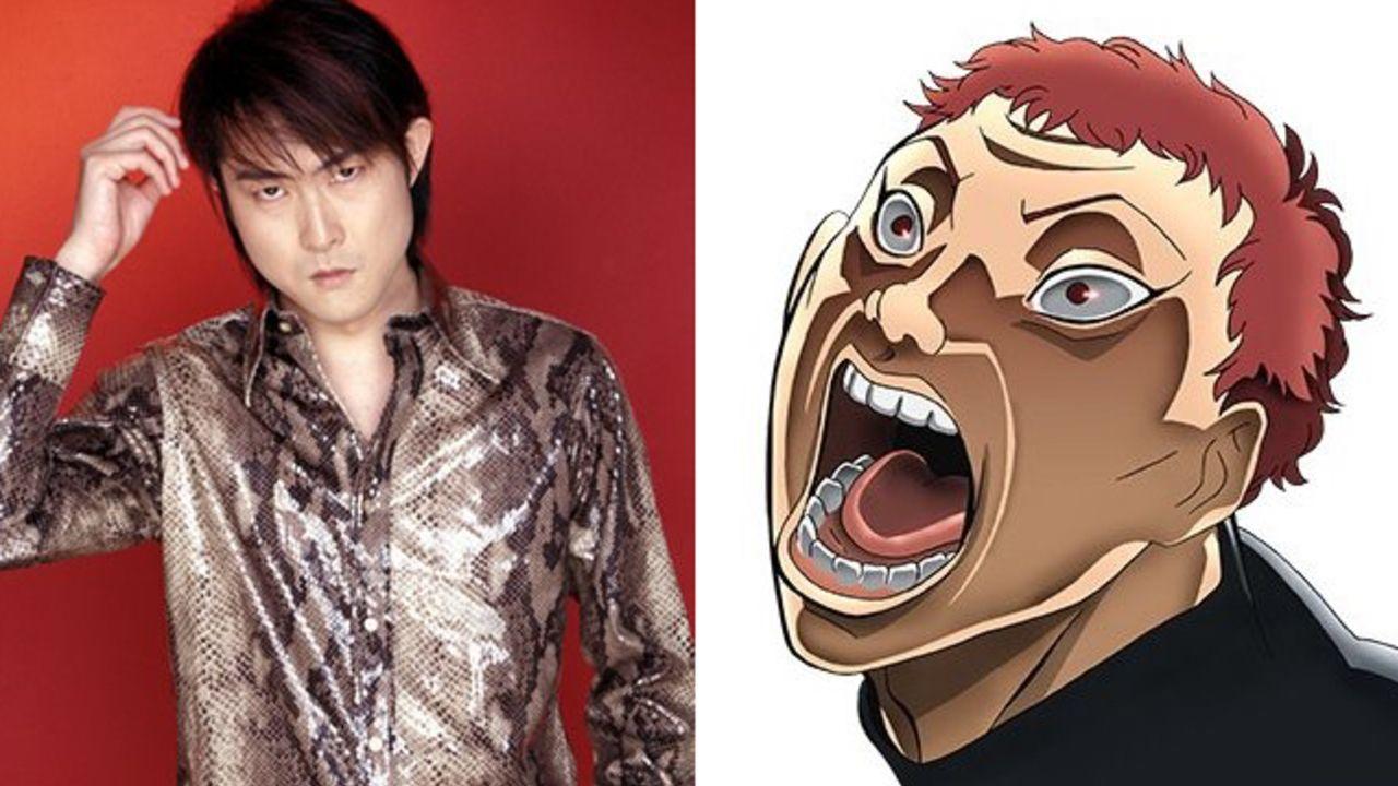 アニメ『バキ』追加キャストに子安武人さん、津田健次郎さんらが出演決定ッ!5人の最凶死刑囚が発表