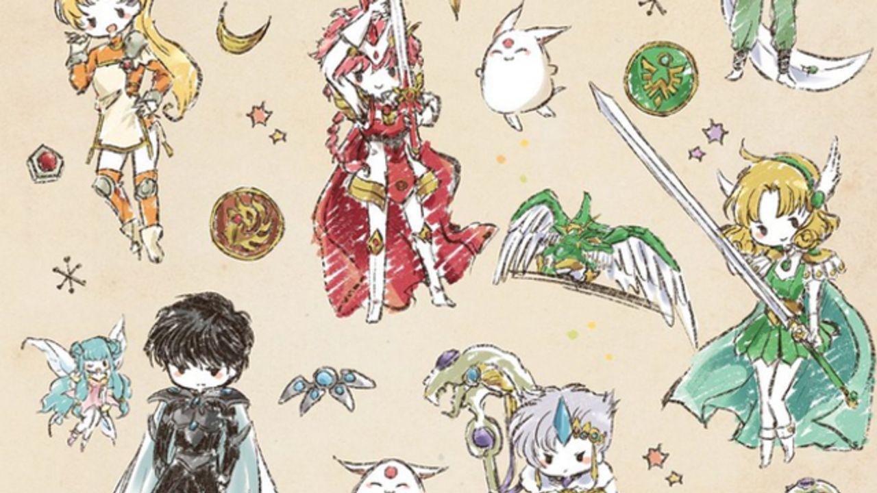 祝25周年!『魔法騎士レイアース』オシャレでカワイイらくがき風アートグッズが池袋パルコにて発売決定!
