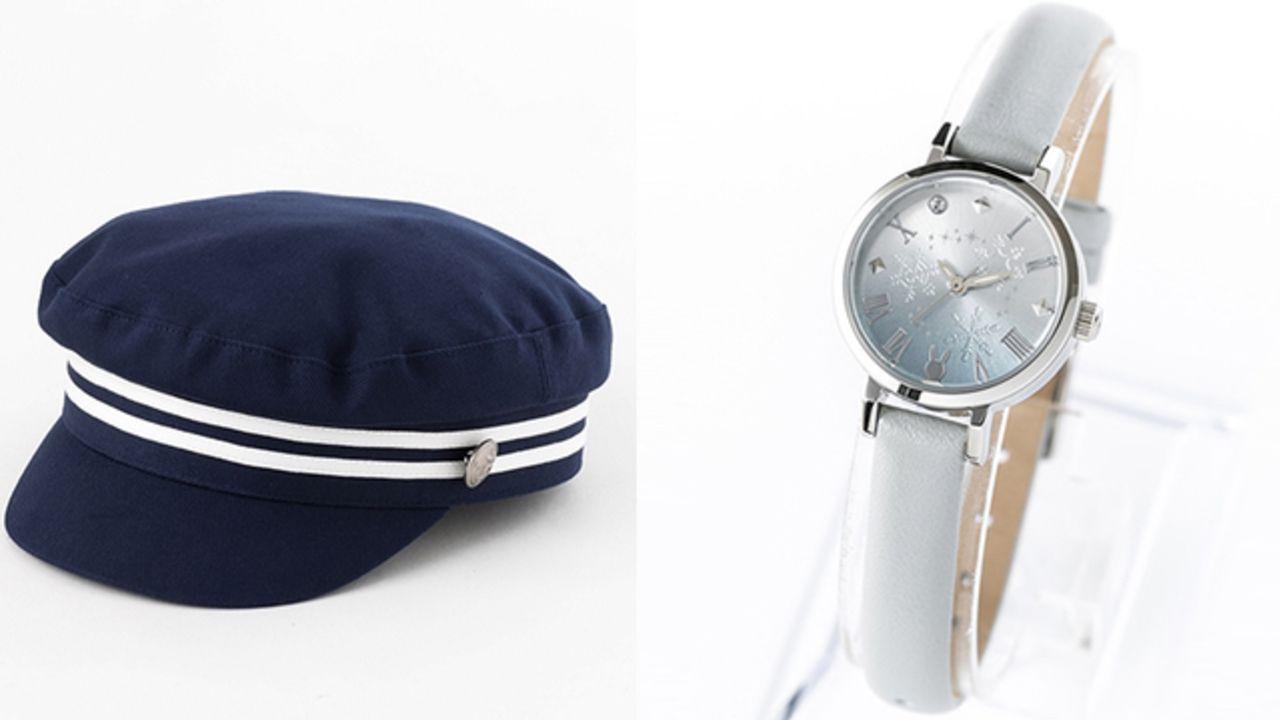 アニメ『ツキウタ。』よりプロセラメンバーをイメージしたキャップやバッグ、腕時計が登場!