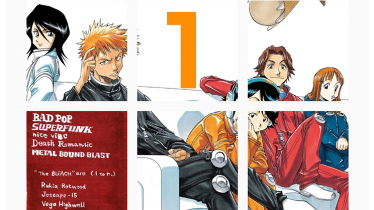 『BLEACH』公式インスタグラムが始動!謎の「1」という数字と12枚のカラーイラストをアップ!