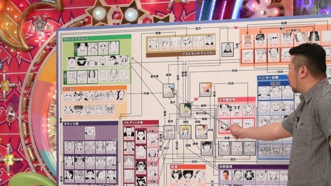 アメトーーク!『HUNTER×HUNTER』芸人放送で話題に!放映を記念してアニメとマンガが無料配信
