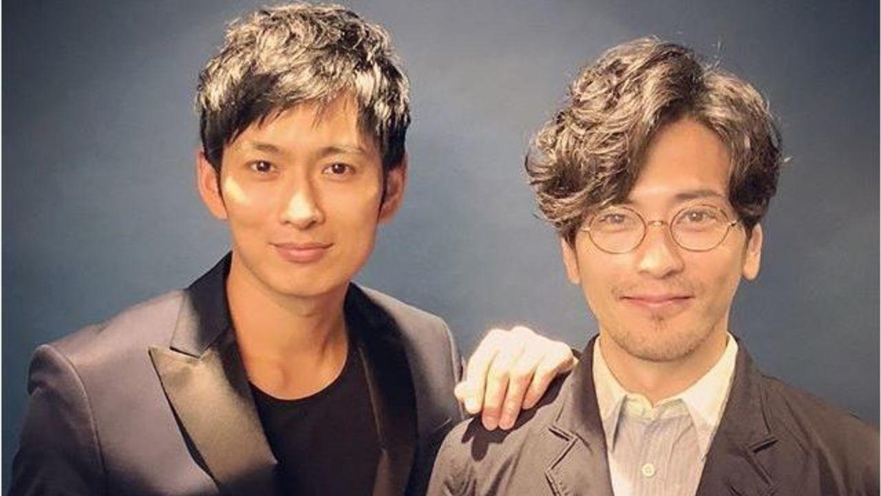 『仮面ライダー龍騎』松田悟志さんが須賀貴匡さんとの2ショット写真を投稿!思い出が蘇ると話題に