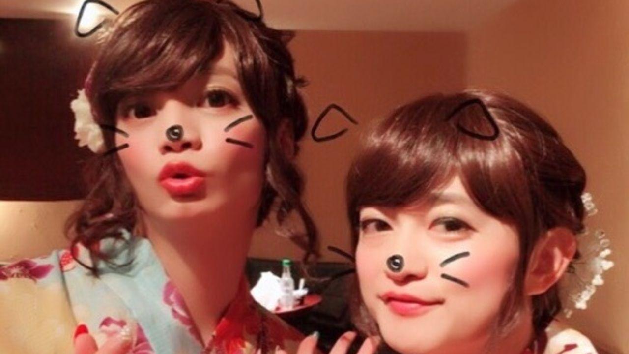 そっくりさん?『バー姐朋友』下野紘さん&浅沼晋太郎さんの女装姿が可愛すぎると話題に!
