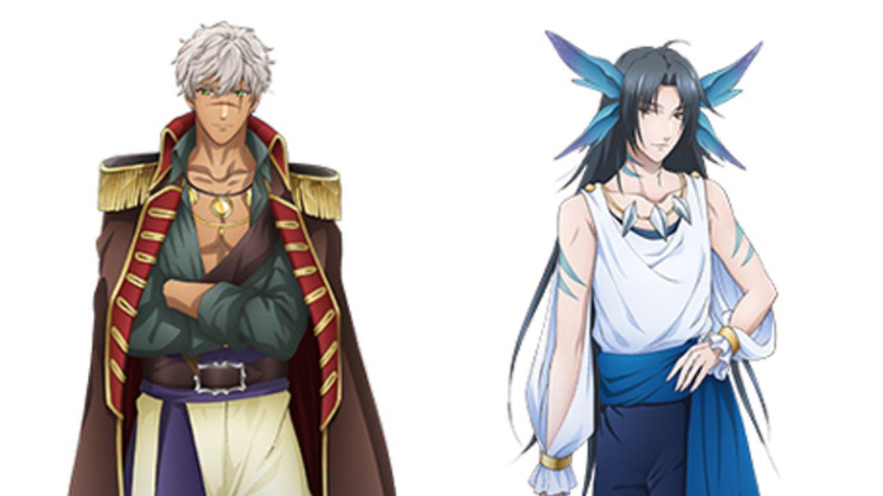 アニメ『夢100』謎の王子が映る新キービジュ&ダグラス、ロッソ、オリオンのキャラビジュが解禁!
