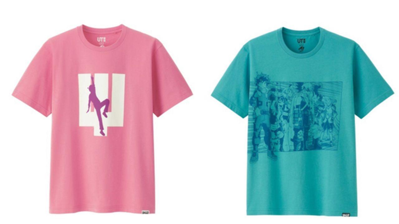 ユニクロ「UT」x ジャンプTシャツコラボ!『ヒロアカ』や『斉木楠雄のΨ難』など2000年代の作品がラインナップ